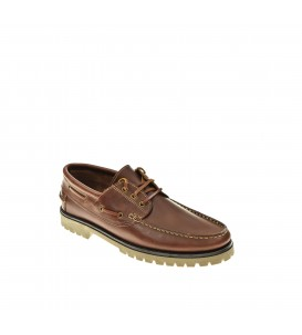 NAUTICO MOCASIN FAT MARRON