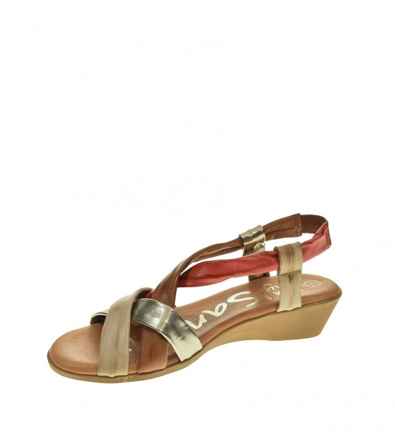 SANDALIA CUÑA OH MY SANDALS MULTI