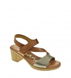 SANDALIA TACON OH MY SANDALS CUERO
