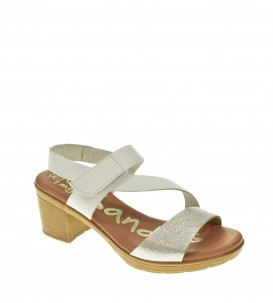 SANDALIA TACON OH MY SANDALS BLANCO