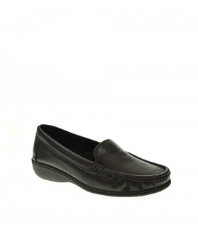 MOCASIN MUJER DUENDY NEGRO