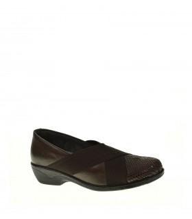 ZAPATO CUÑA RELAX 4 YOU MARRON