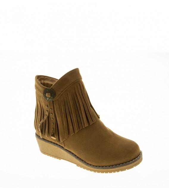 BOTIN NIÑA XTI FOOTWEAR CAMEL