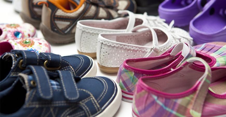 Zapato infantil para verano.